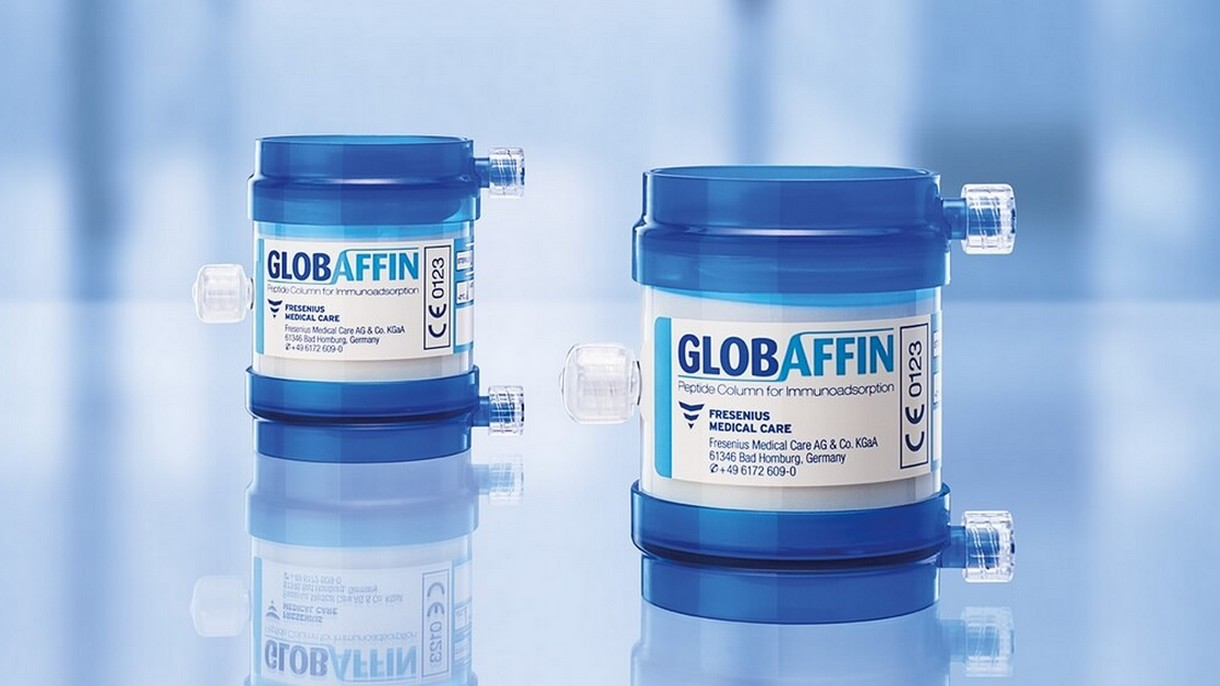 Immunosorba and GLOBAFFIN adsorbers