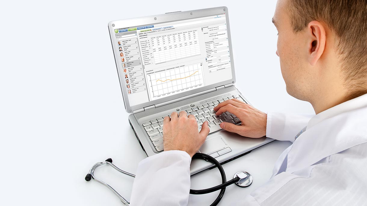Clinical data management software in TDMS