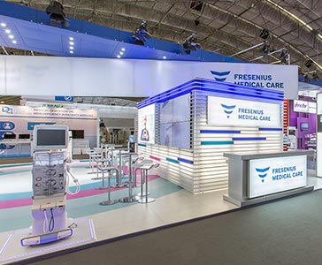 Fresenius Medical Care ISPD 2014 exhibition booth